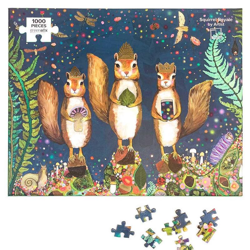 PUZZLE 1000PC SQUIRREL ROYALE