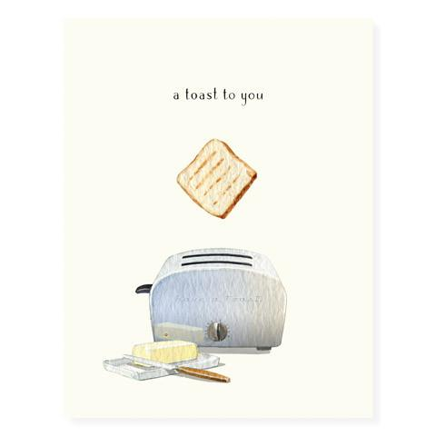 CARD TOAST TO YOU