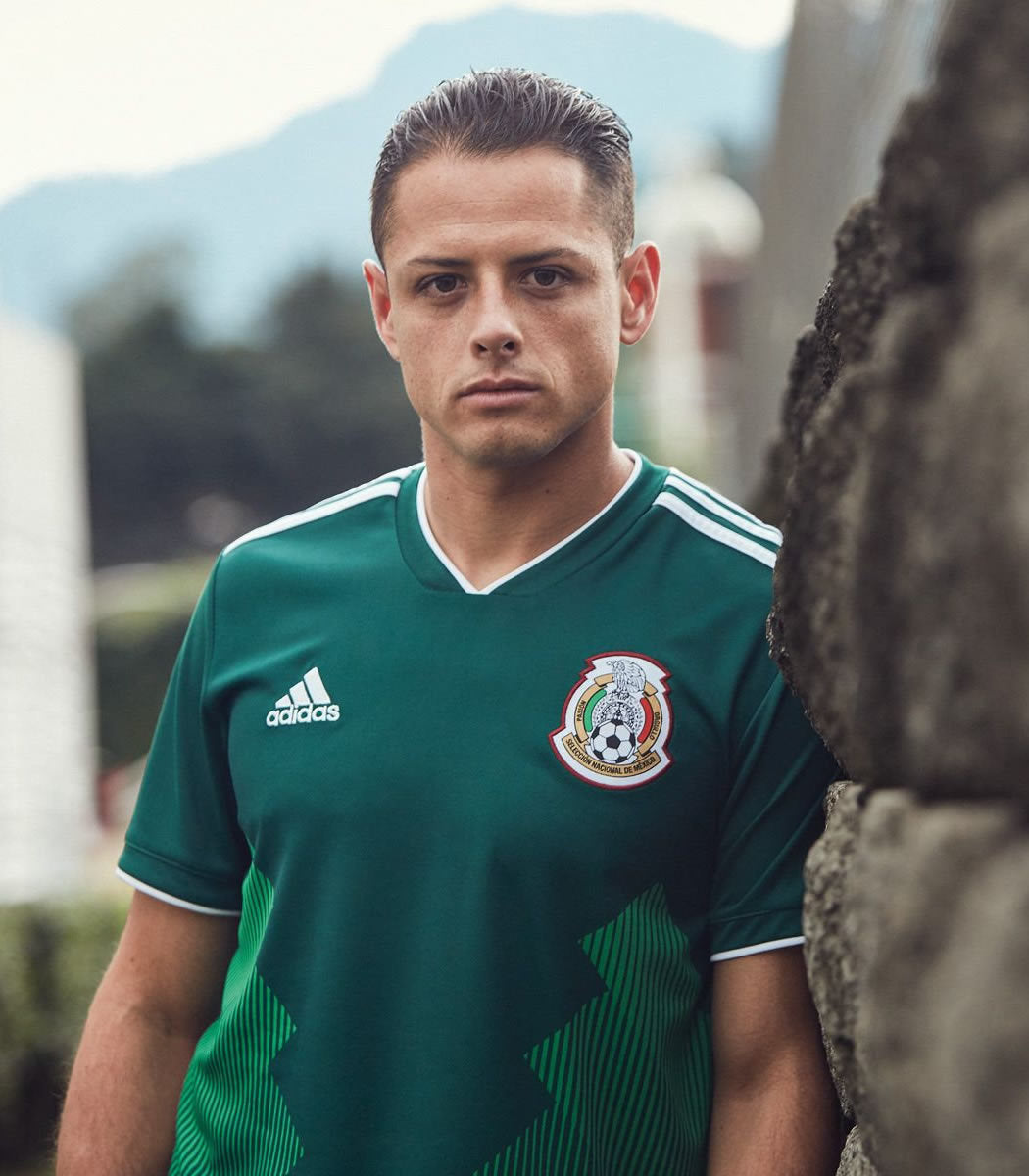 low priced 7bb43 3ed2f 2018 World Cup Mexico Home Green Soccer Jersey – Aztec Jersey