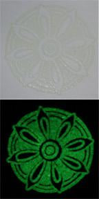 Embossing Powder Glow in the Dark EP392