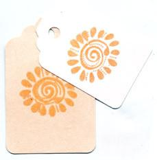 Embossing Powder Orange Sherbet EP245