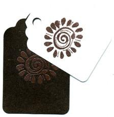Embossing Powder Fiery Brown EP369