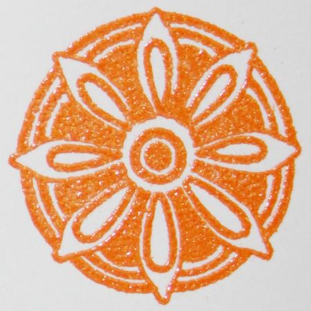Embossing Powder Tangy Tangerine EP447