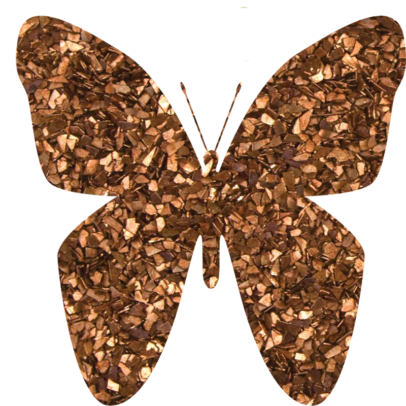 Glass Glitter Bronze GG08C