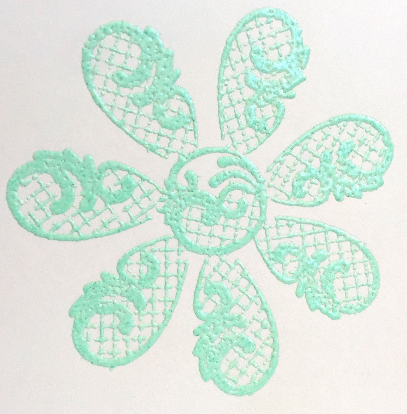 Embossing Powder Mint Julep EP225
