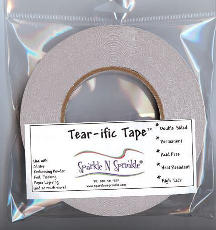 "1/8"" x 55 yds. Double Sided ""Tear-ific"" Tape, SAT02"