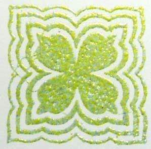 Embossing Powder Chartreuse  EP207