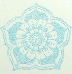 Embossing Powder Sky Blue Spark EP162