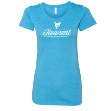 Load image into Gallery viewer, Flowsent Script Logo Ladies Tee