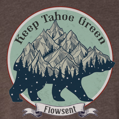 Keep Tahoe Green Tee