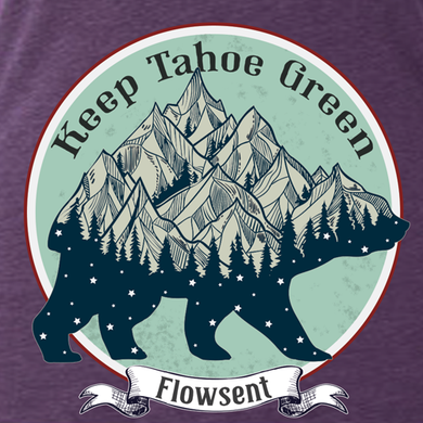 Keep Tahoe Green Ladies Tee