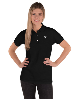 Ladies Flowsent Embroidered Polo