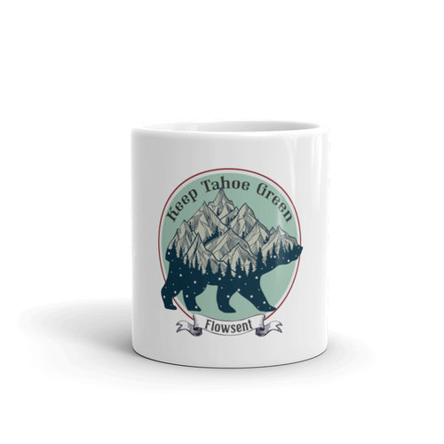Keep Tahoe Green Mug