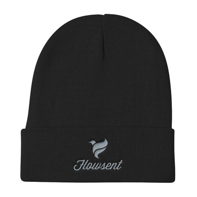 Flowsent Embroidered Knit Beanie