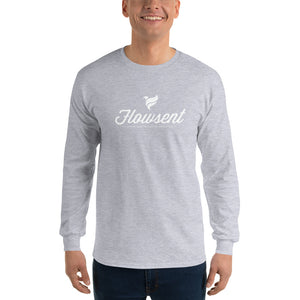 Flowsent Script Long Sleeve T-Shirt