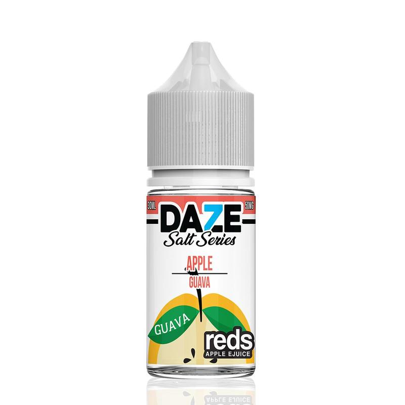 VAPE 7 DAZE SALT - Reds Apple Guava 30ML eLiquid