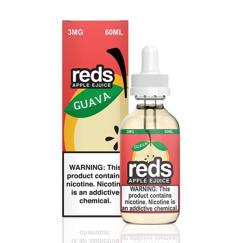 VAPE 7 DAZE - Reds Apple Guava 60ML eLiquid