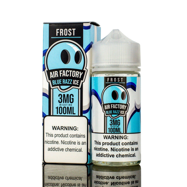 Buy AIR FACTORY FROST | Blue Razz Ice 100ML eLiquid | $14.99 | Vape Online Store | ELIQUIDVAPEJUICES.COM | VAPE EJUICE | AIR FACTORY FROST