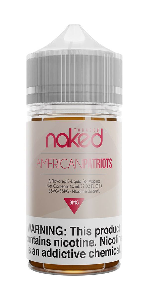 NAKED 100 TOBACCO - American Patriots 60ML eLiquid