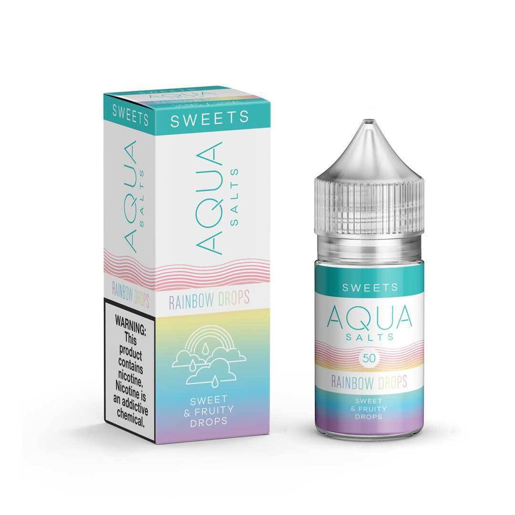 AQUA SALTS - Rainbow Drops eLiquid