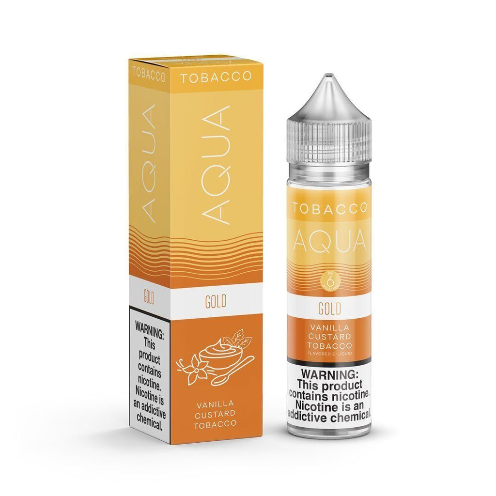 AQUA TOBACCO - Gold 60ML eLiquid