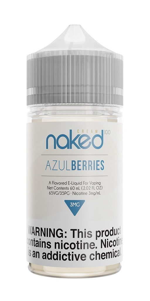 NAKED 100 CREAM - Azul Berries 60ML eLiquid