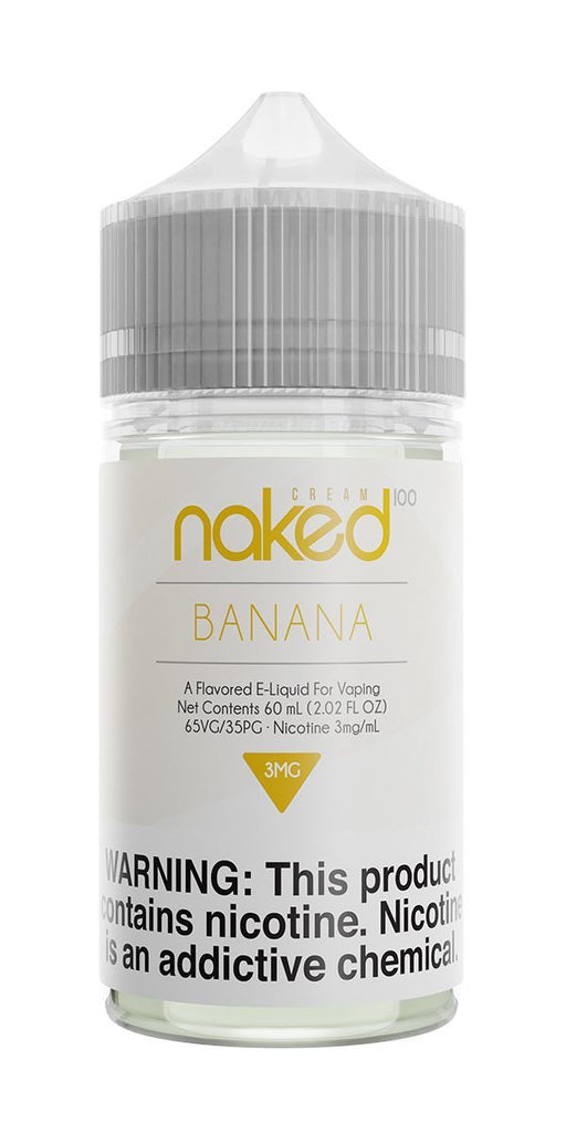 NAKED 100 CREAM - Go Nanas / Banana 60ML eLiquid