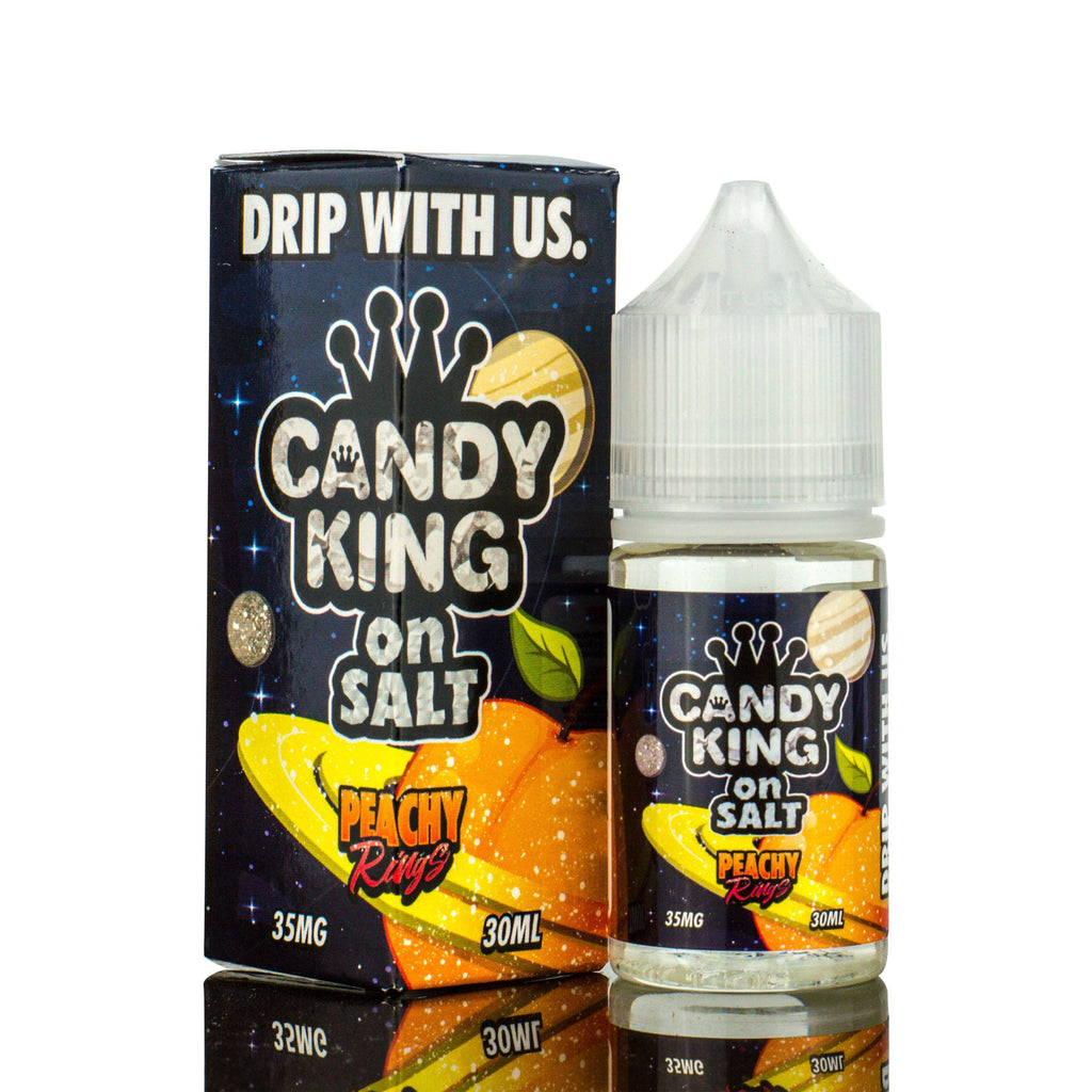 CANDY KING ON SALT - Peachy Rings eLiquid