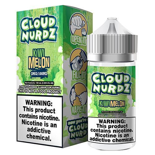 CLOUD NURDZ - Kiwi Melon 100ML eLiquid