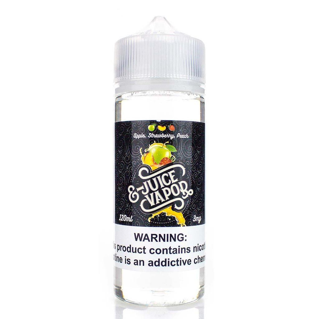 EJV House Juice - Apple Strawberry Peach 120ml eLiquid