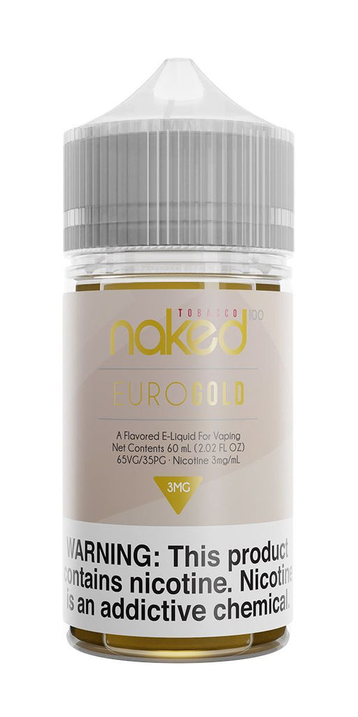 NAKED 100 TOBACCO - Euro Gold 60ML eLiquid