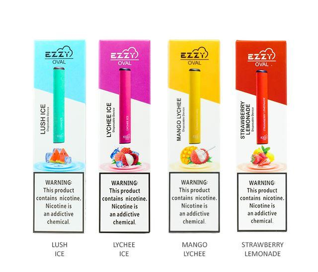 EZZY Oval Disposable E-Cigs (Individual)