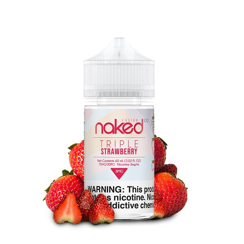 NAKED 100 FUSION | Triple Strawberry / Strawberry 60ML eLiquid