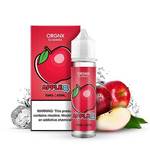Orgnx Eliquids - Apple Ice 60ML eLiquid