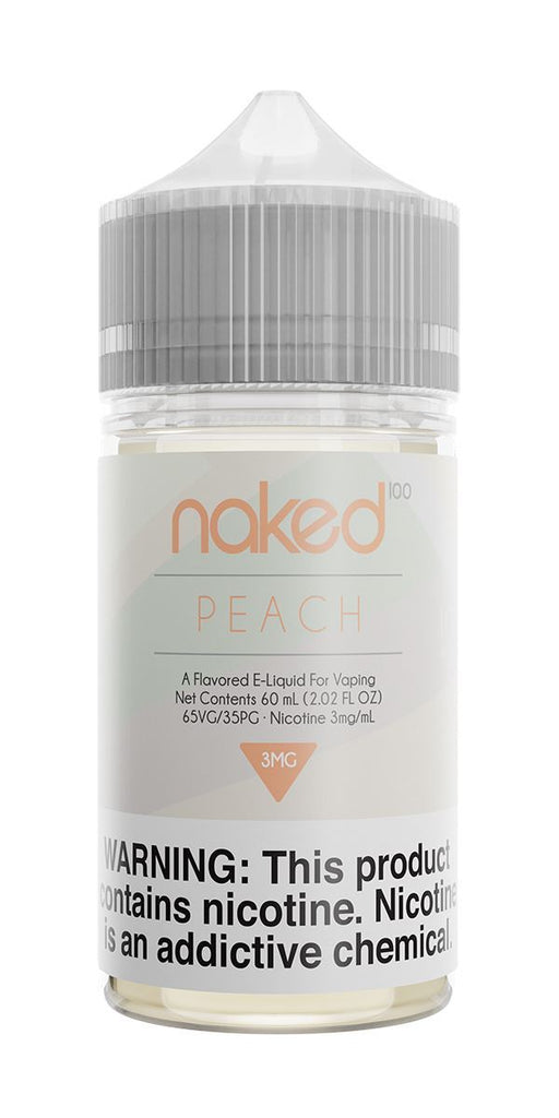 NAKED 100 ORIGINAL - Peachy Peach / Peach 60ML eLiquid