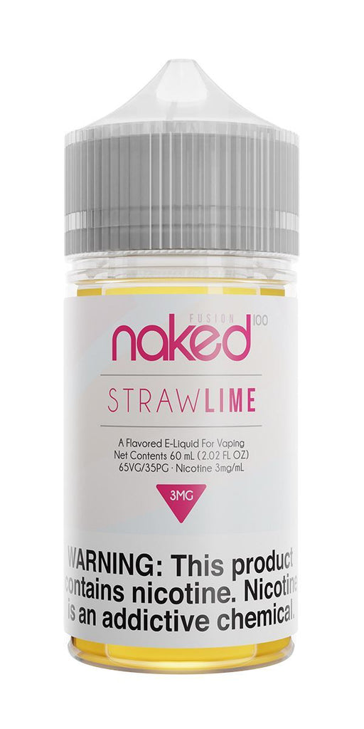 NAKED 100 FUSION - Straw Lime 60ML eLiquid