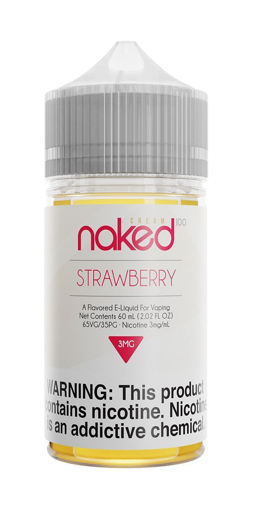 NAKED 100 CREAM - Unicorn / Strawberry 60ML eLiquid