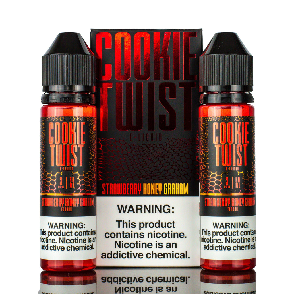 COOKIE TWIST - Strawberry Honey Graham 120ML eLiquid