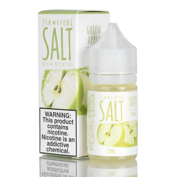 SKWEZED SALT - Green Apple 30ML eLiquid