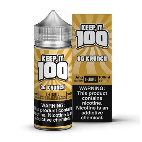 Keep It 100 - Krunchy Squares / OG Krunch 100ML eLiquid