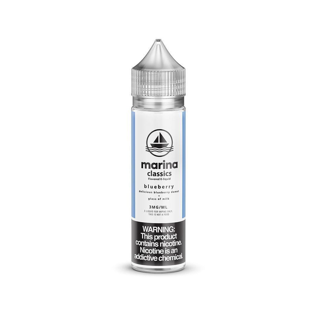 MARINA CLASSICS - Blueberry Donut 60ML eLiquid