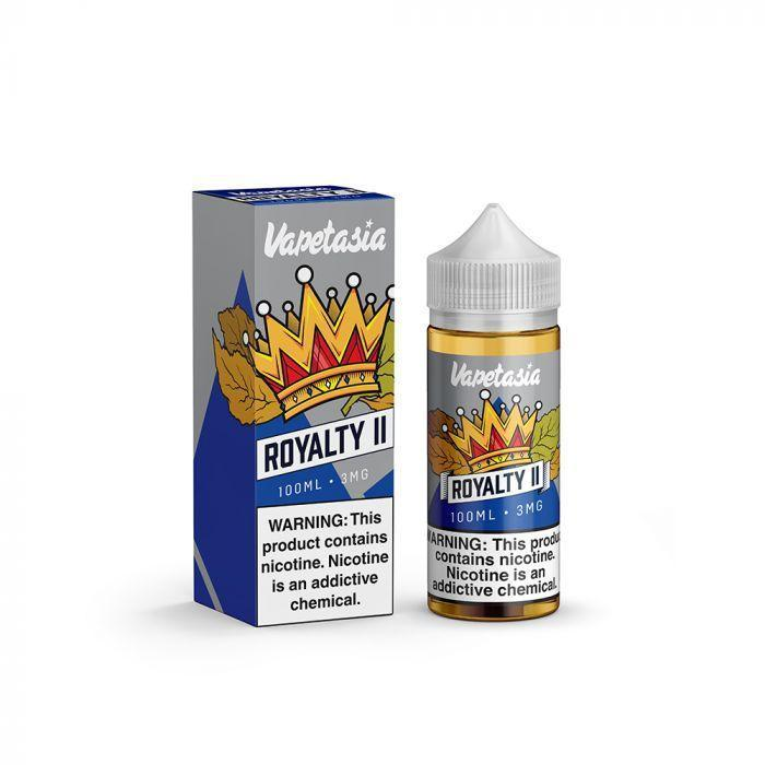 VAPETASIA-  Royalty II E 100ML eLiquid