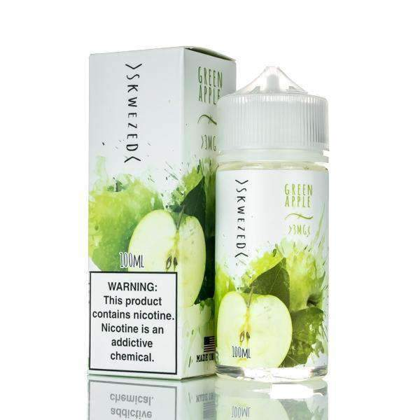 SKWEZED - Green Apple 100ML eLiquid