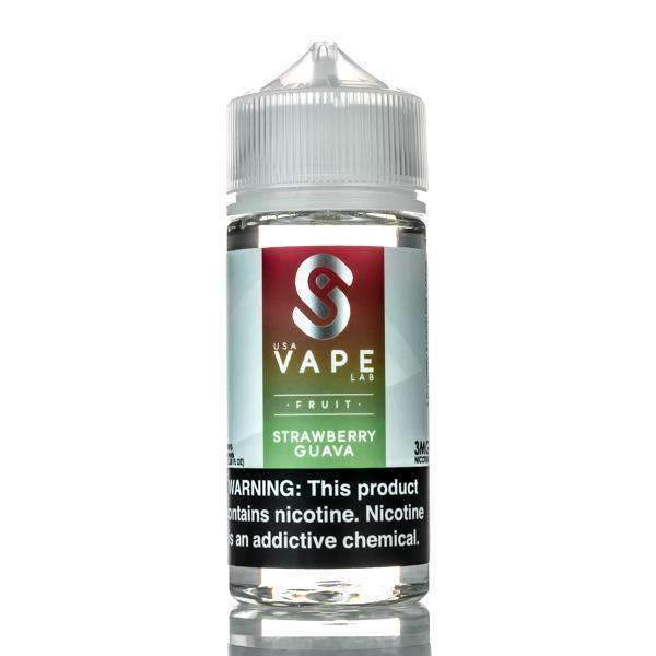 USA VAPE LABS - Strawberry Guava 100ML eLiquid