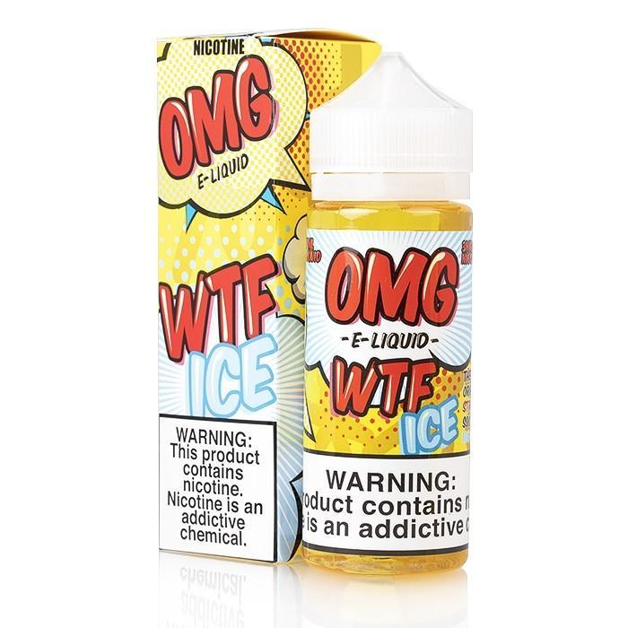 KILO OMG - WTF ICE Strawberry Sour Belt 120ML eLiquid
