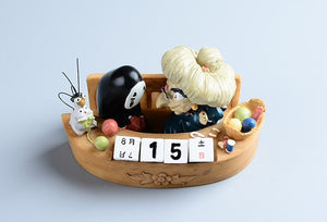 [Granny Yubaba] Resin Collectible Desk Calendar, Aisuru 100%, Home Decor- Aisuru 100%
