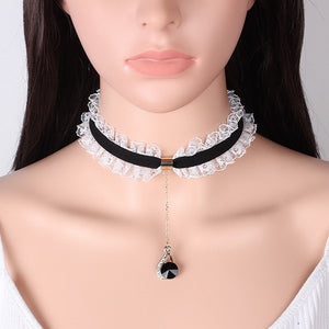 [Maid for u] Choker, Aisuru 100%, accessory- Aisuru 100%