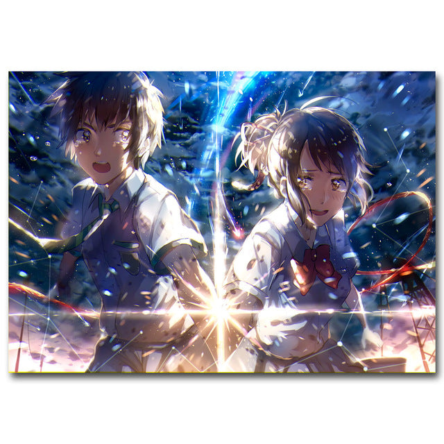 [Your Name] Silk Poster(s), Aisuru 100%, Home Decor- Aisuru 100%