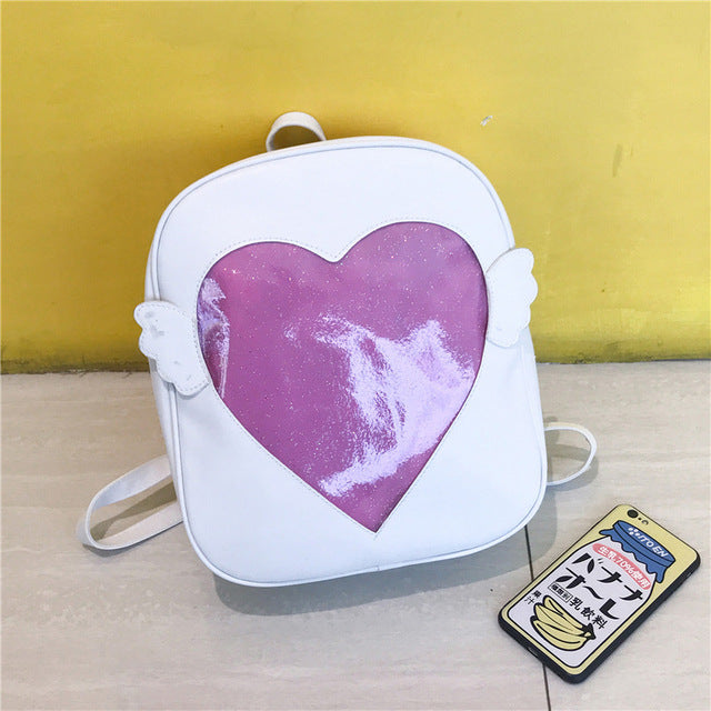 [Angle or....devil] Ita bag, Aisuru 100%, backpack- Aisuru 100%