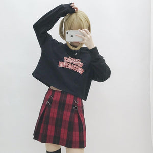[Slasher Flick] Mini Skirt, Aisuru 100%, Streetwear- Aisuru 100%